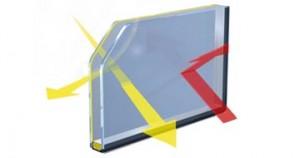 Sonnenschutz-Glas
